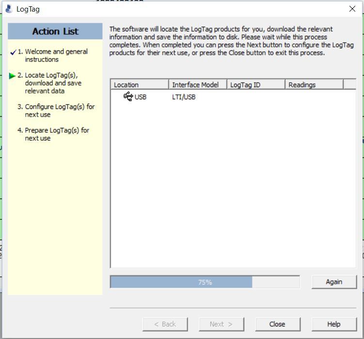 Logtag Analyser Device List