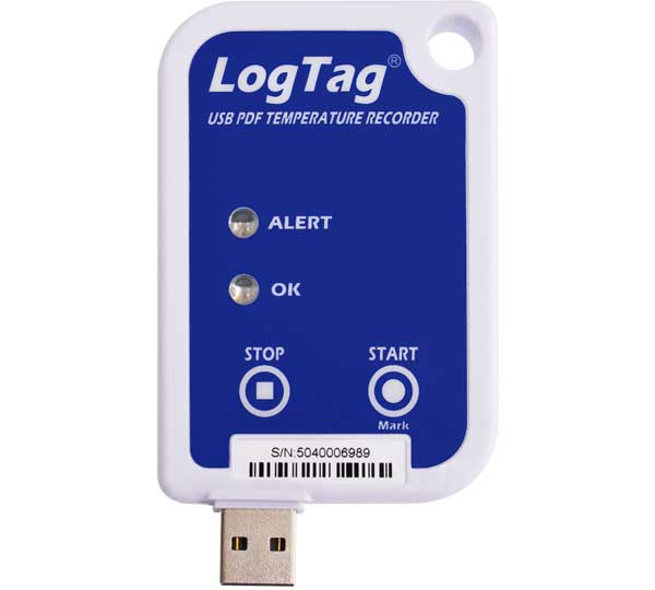 LogTag with built in USB