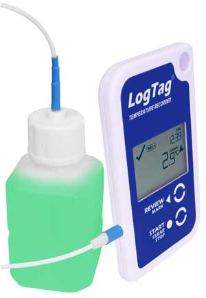 LogTag with glycol
