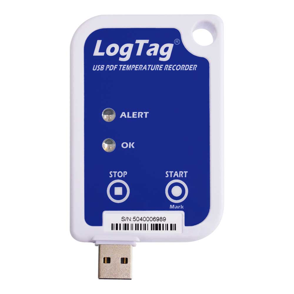LogTag UTRIX-16 Temperature Logger with USB Connection