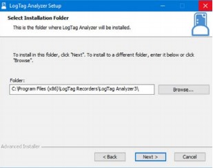 Select Installation Folder