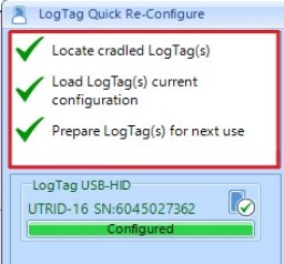Downloading Your LogTag